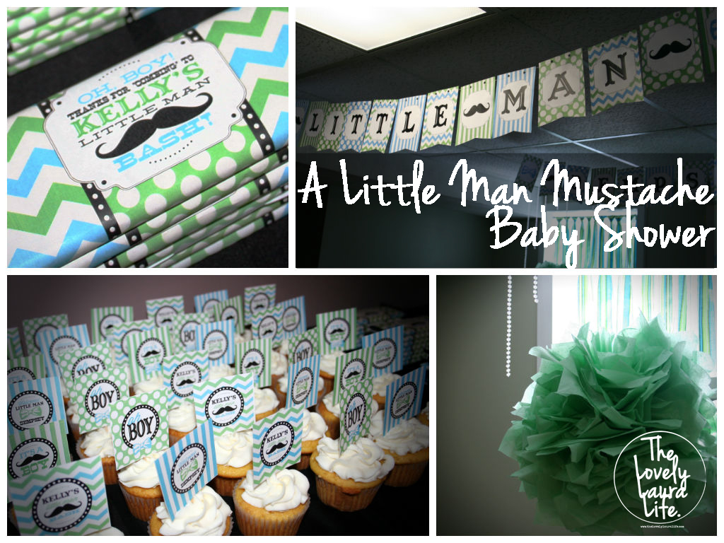 Little Man Mustache Bash Theme [Baby Shower]
