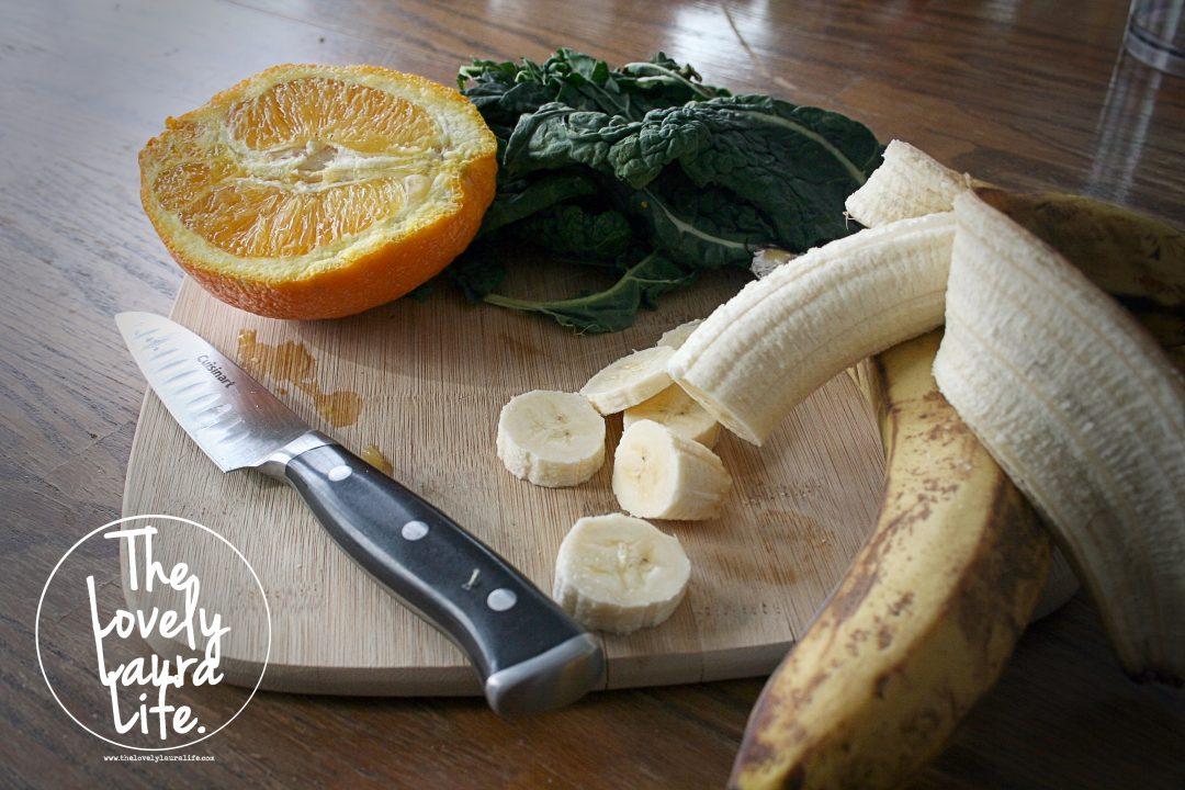 Kale & Orange Banana Mango Smoothie