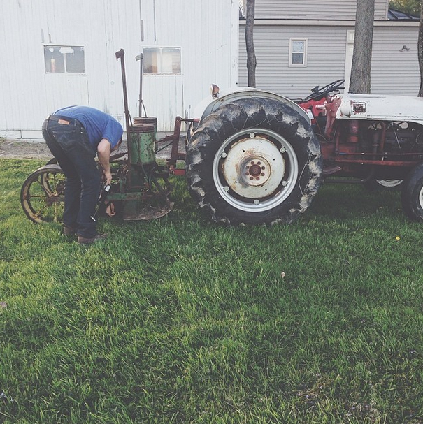 Modern day farmer