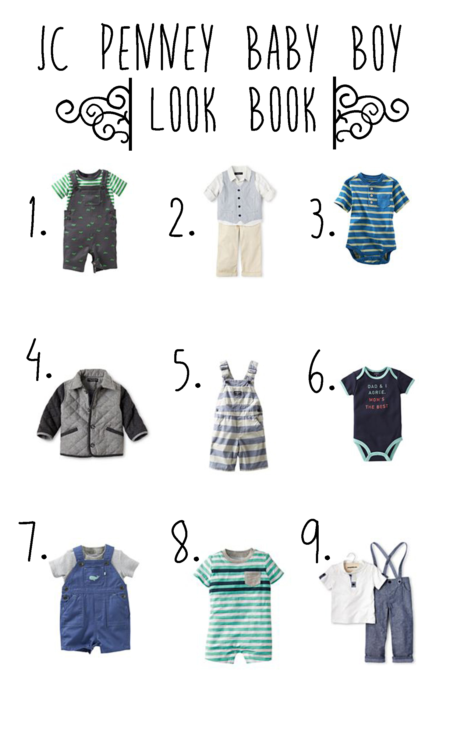 Summer baby boy style from JCPenney