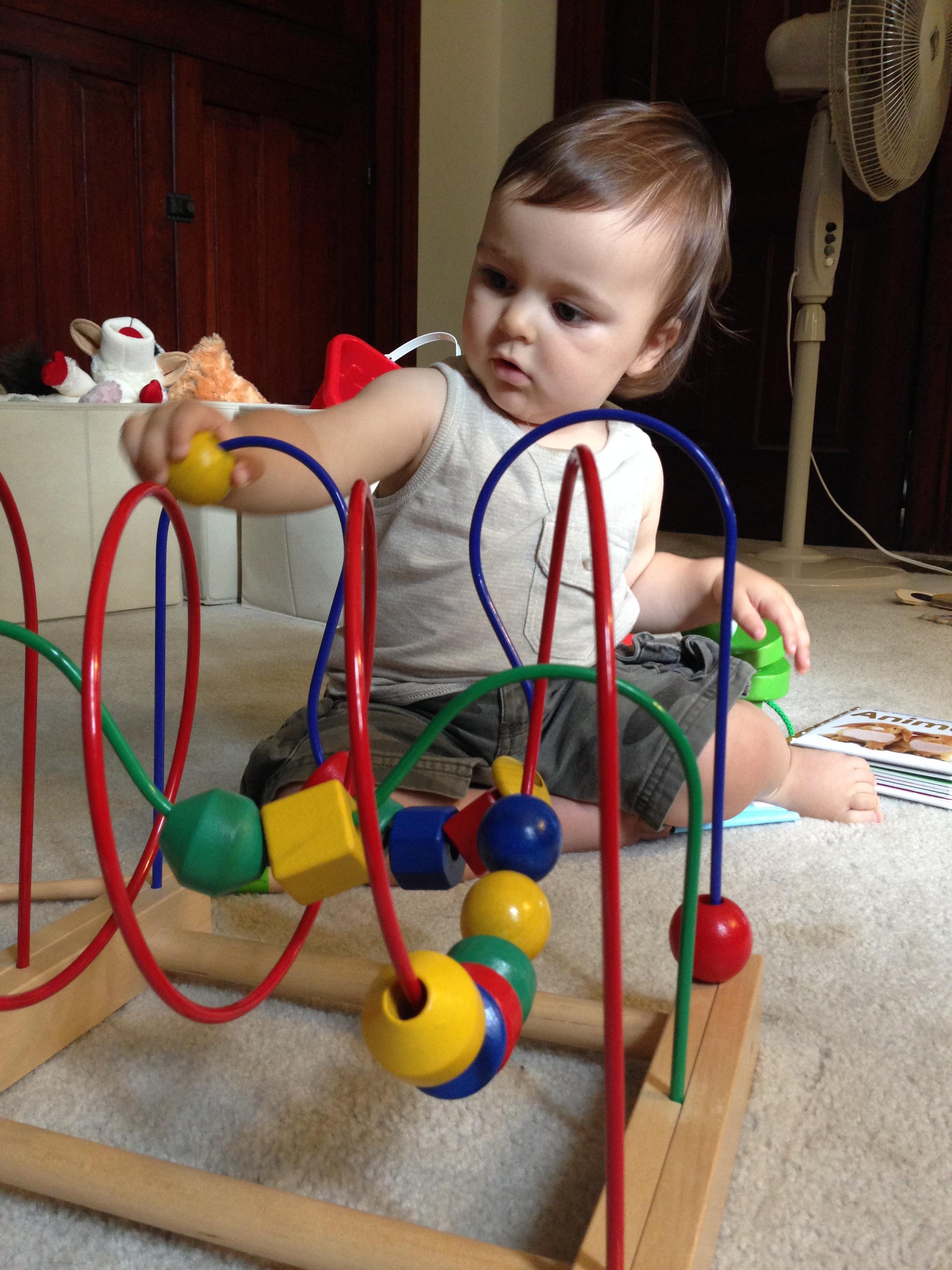 Wyatt, 12 months - monthly update | thelovelylauralife.com
