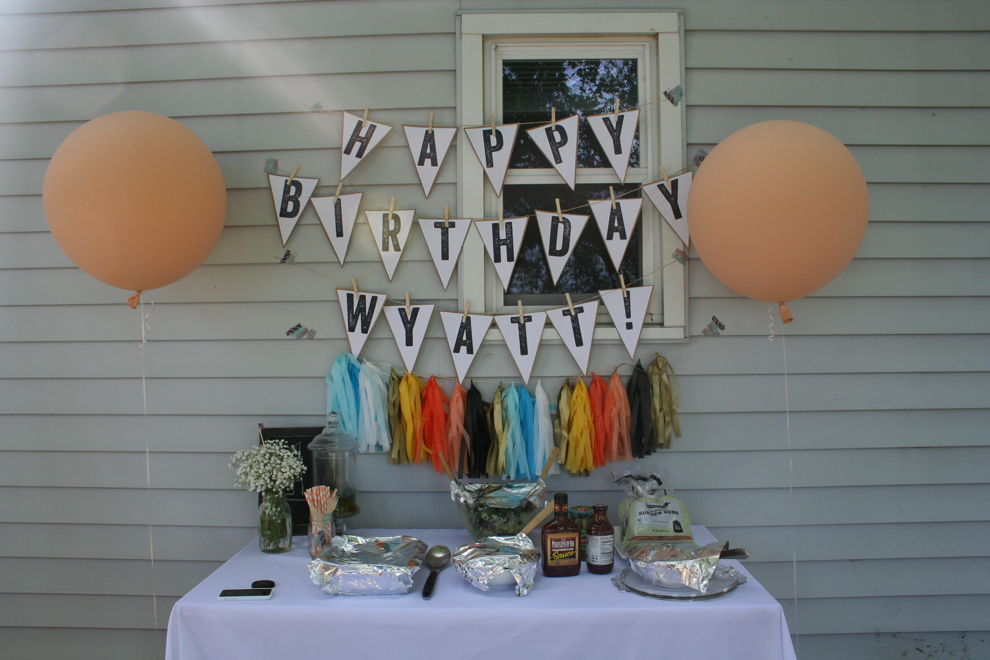 "A summer ""birthday"" themed birthday party with DIY's and free printables"