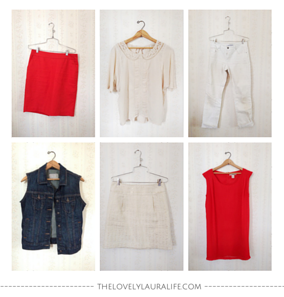 Summer wrap up least worn items