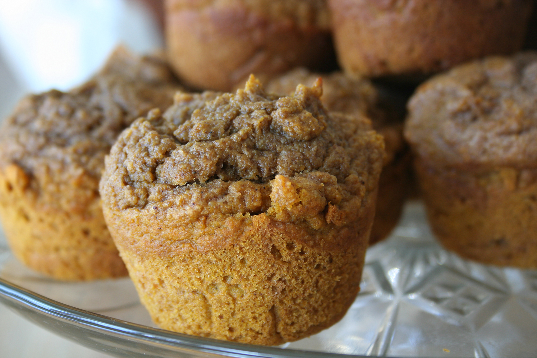 Sprouted Whole Wheat Pumpkin Muffins