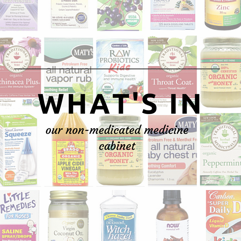 whats in our non medicated medicine cabinet