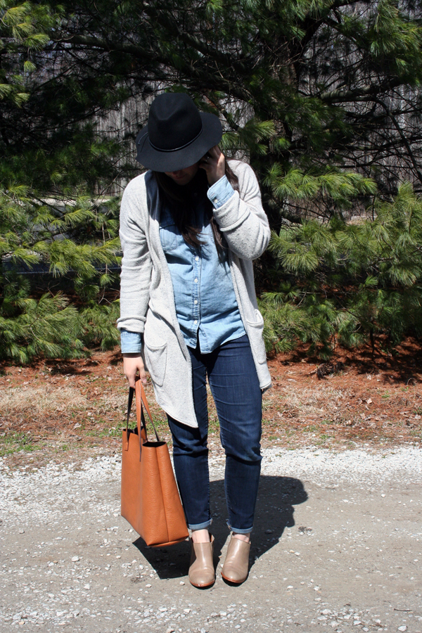 mama style / mixing high + low end pieces