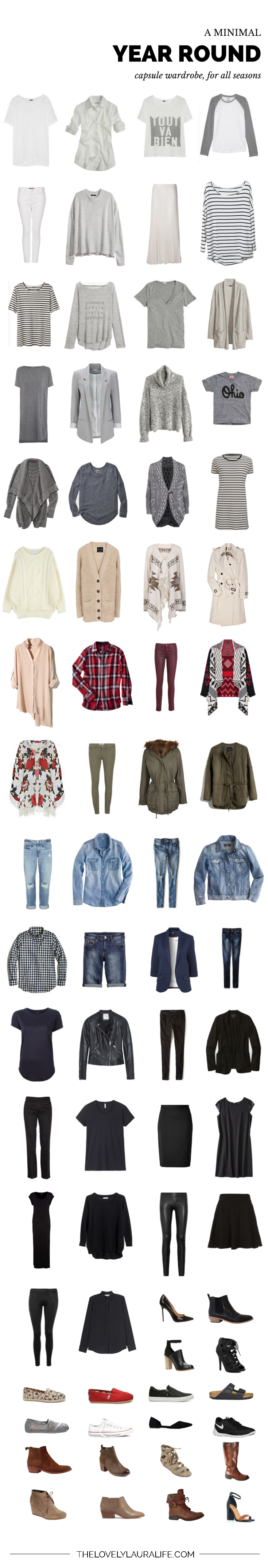 All Seasons Capsule Wardrobe Spring 2015 Update