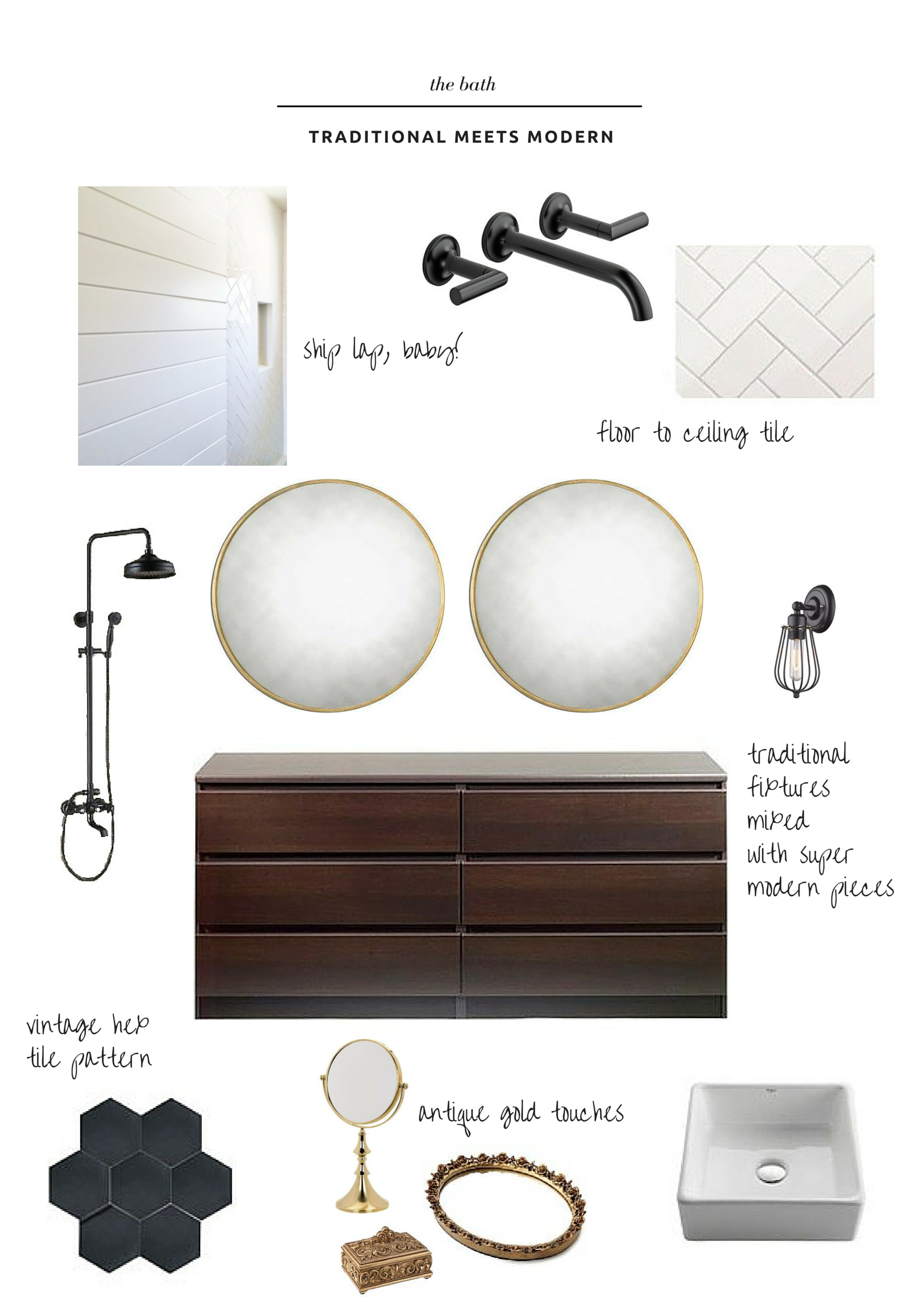 1st floor bath reno inspiration- thelovelylauralife.com