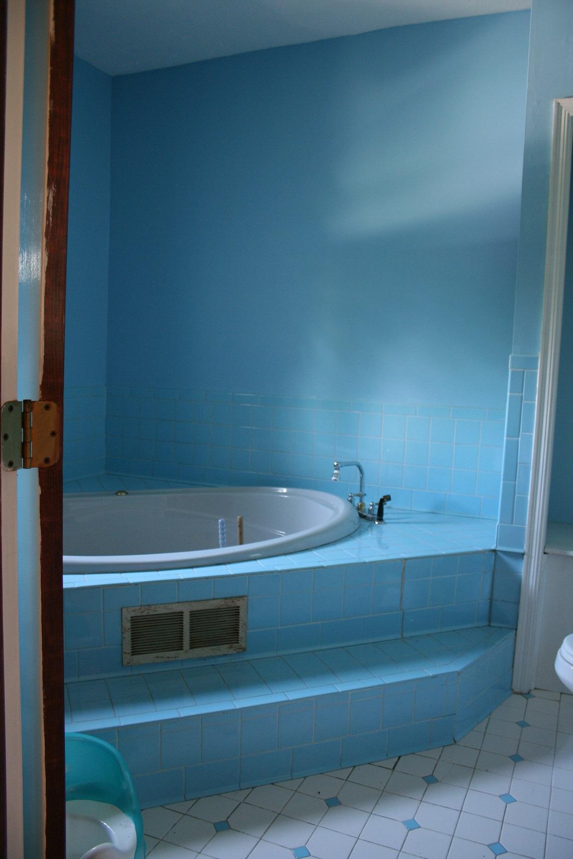 Bathroom Remodel Order Of Operations : Operation blanton farm a blue bathroom remodel