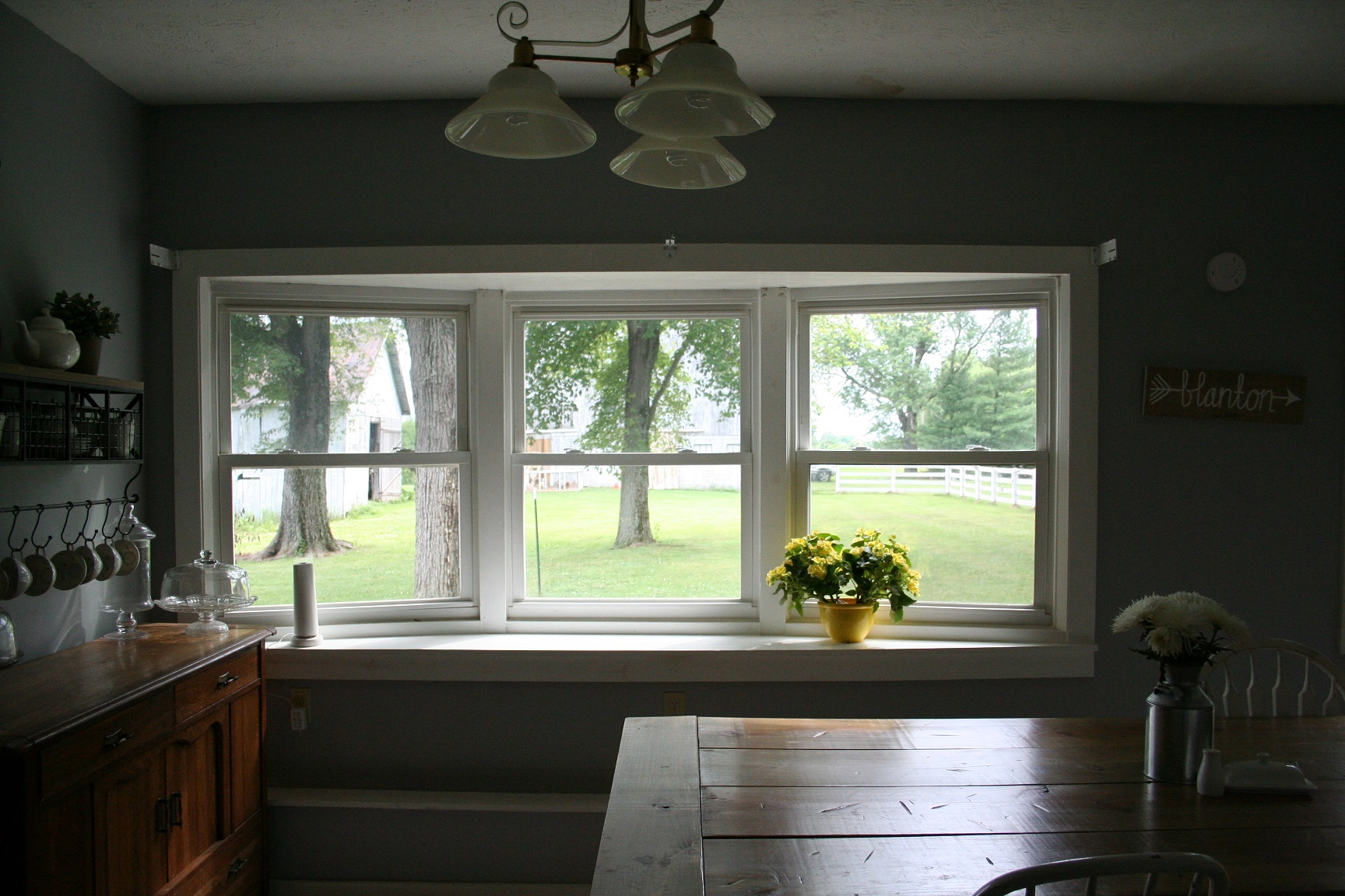 operation blanton farm, kitchen progress via thelovelylauralife.com (7)