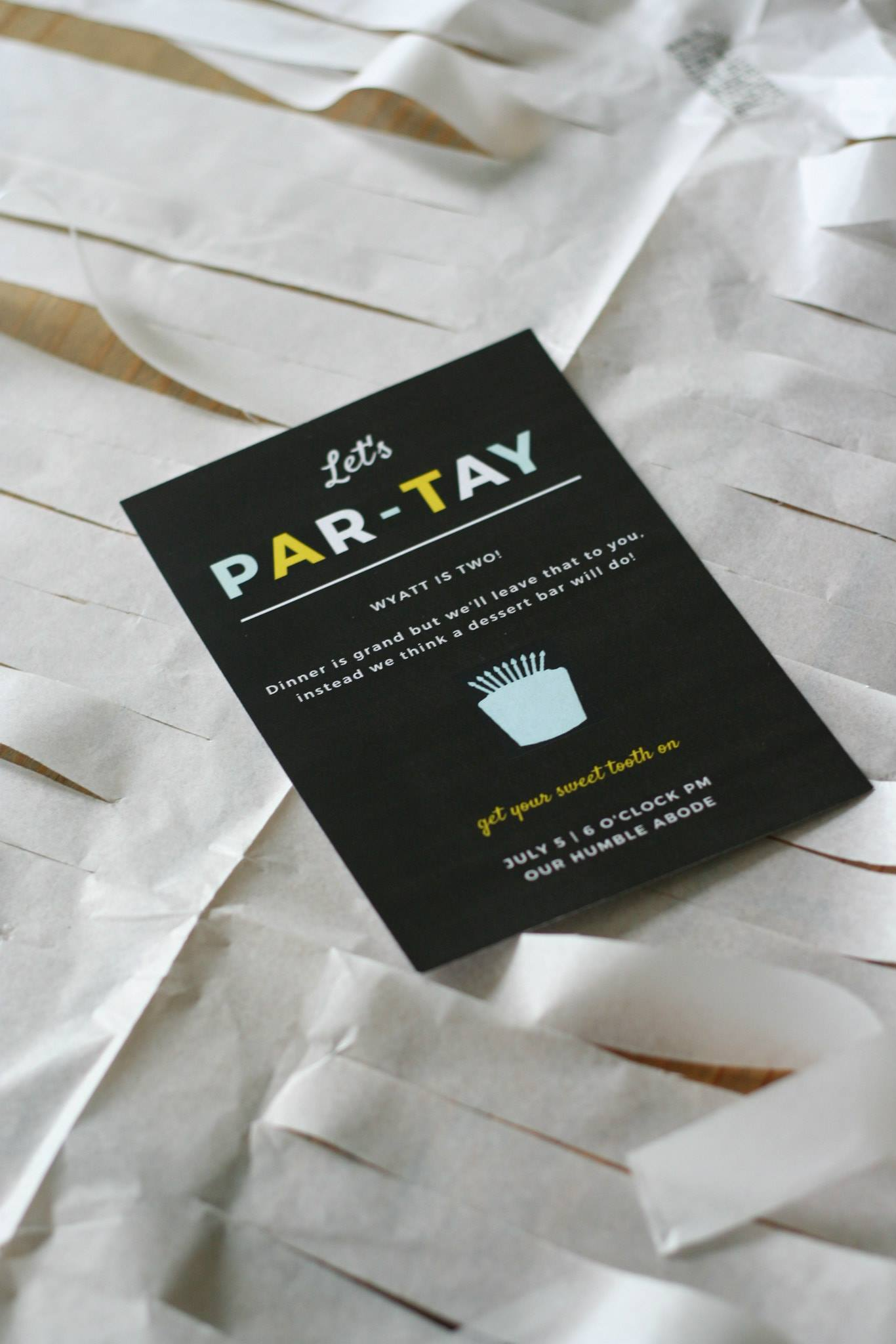 "a color themed ""let's par-tay"" birthday party via thelovelylauralife.com"