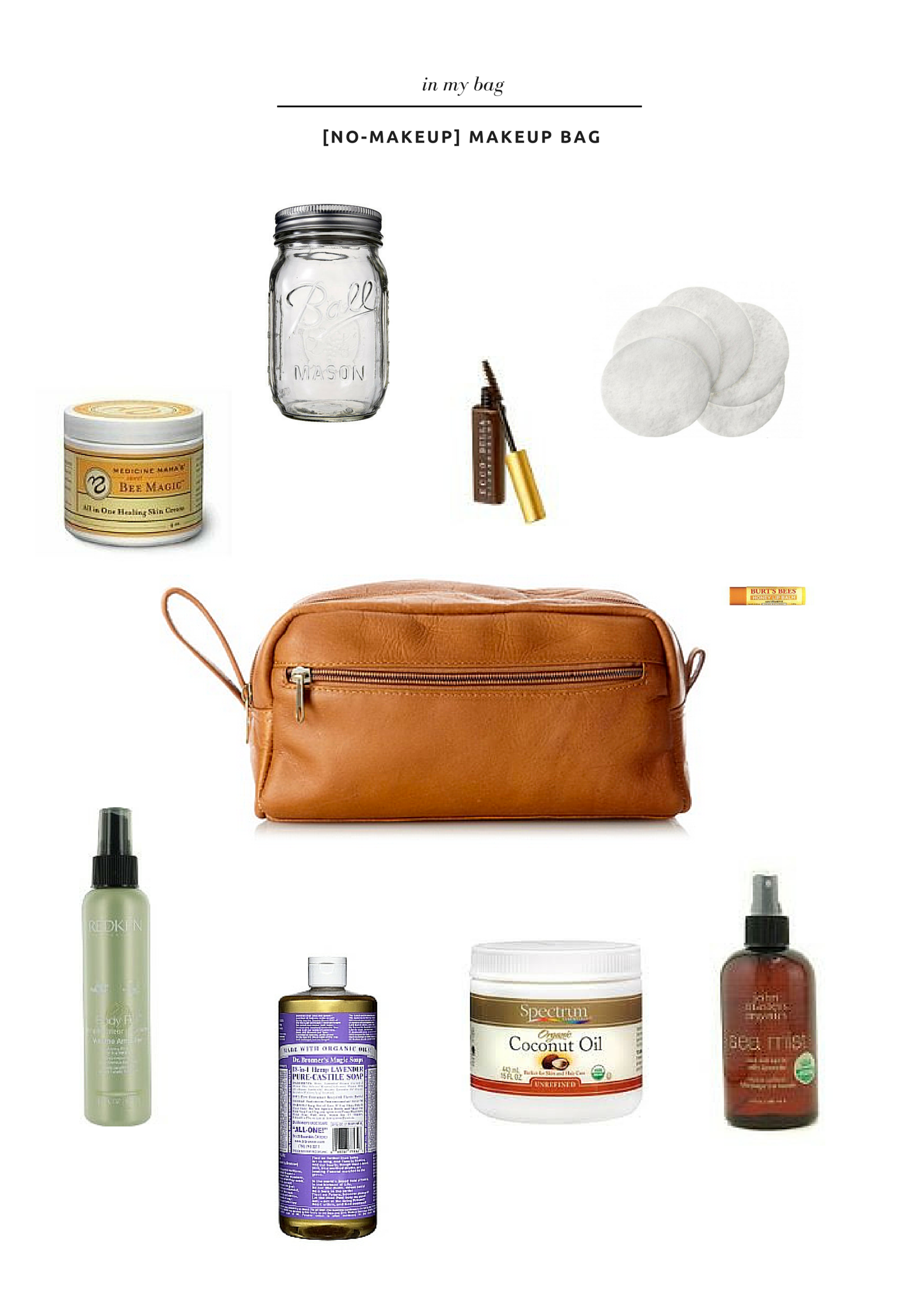 in my bag, [no-makeup] makeup bag - thelovelylauralife.com
