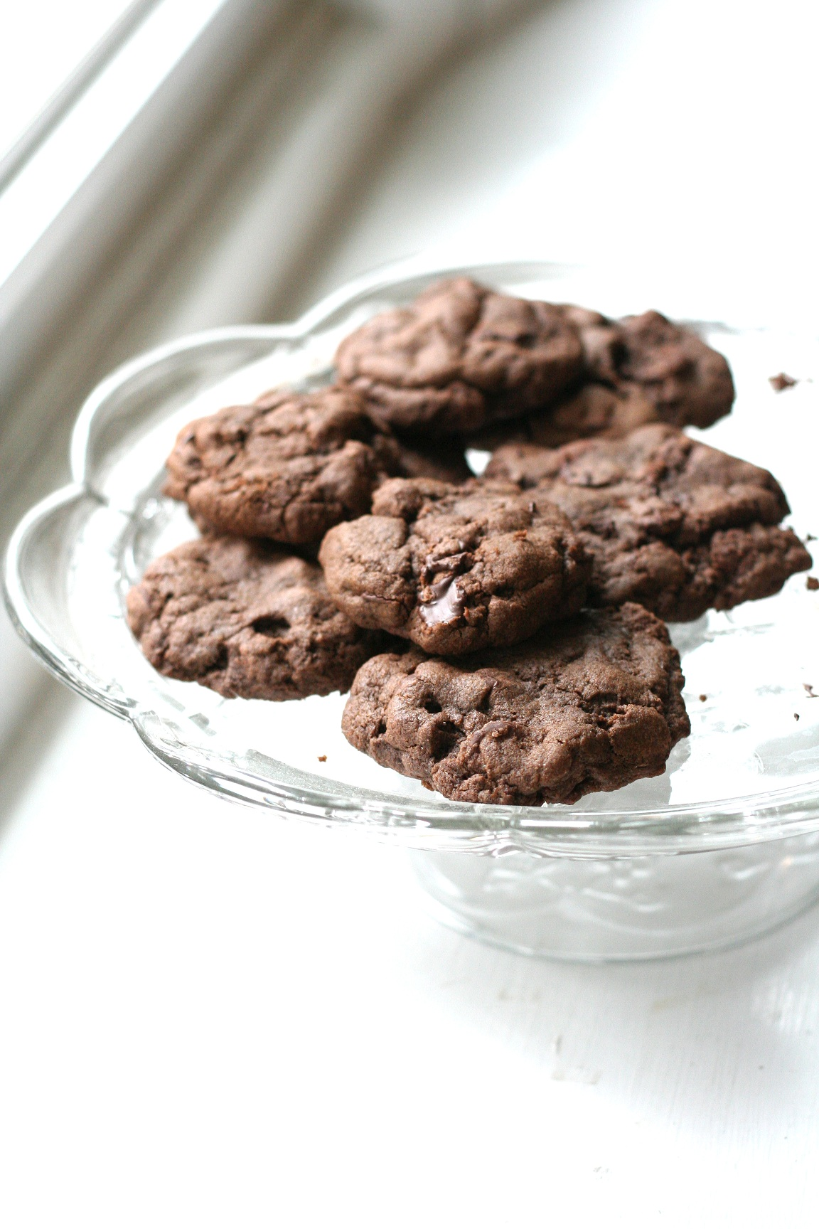 A double chocolate chip cookie recipe