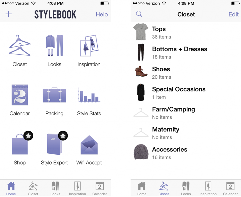 How I put the Stylebook app to work for my wardrobe via www.thelovelylauralife.com