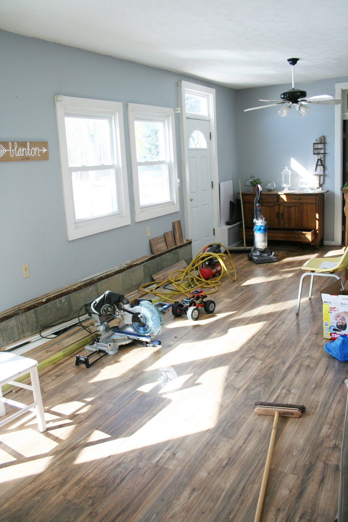 Operation Blanton Farm / Breakfast Room Progress