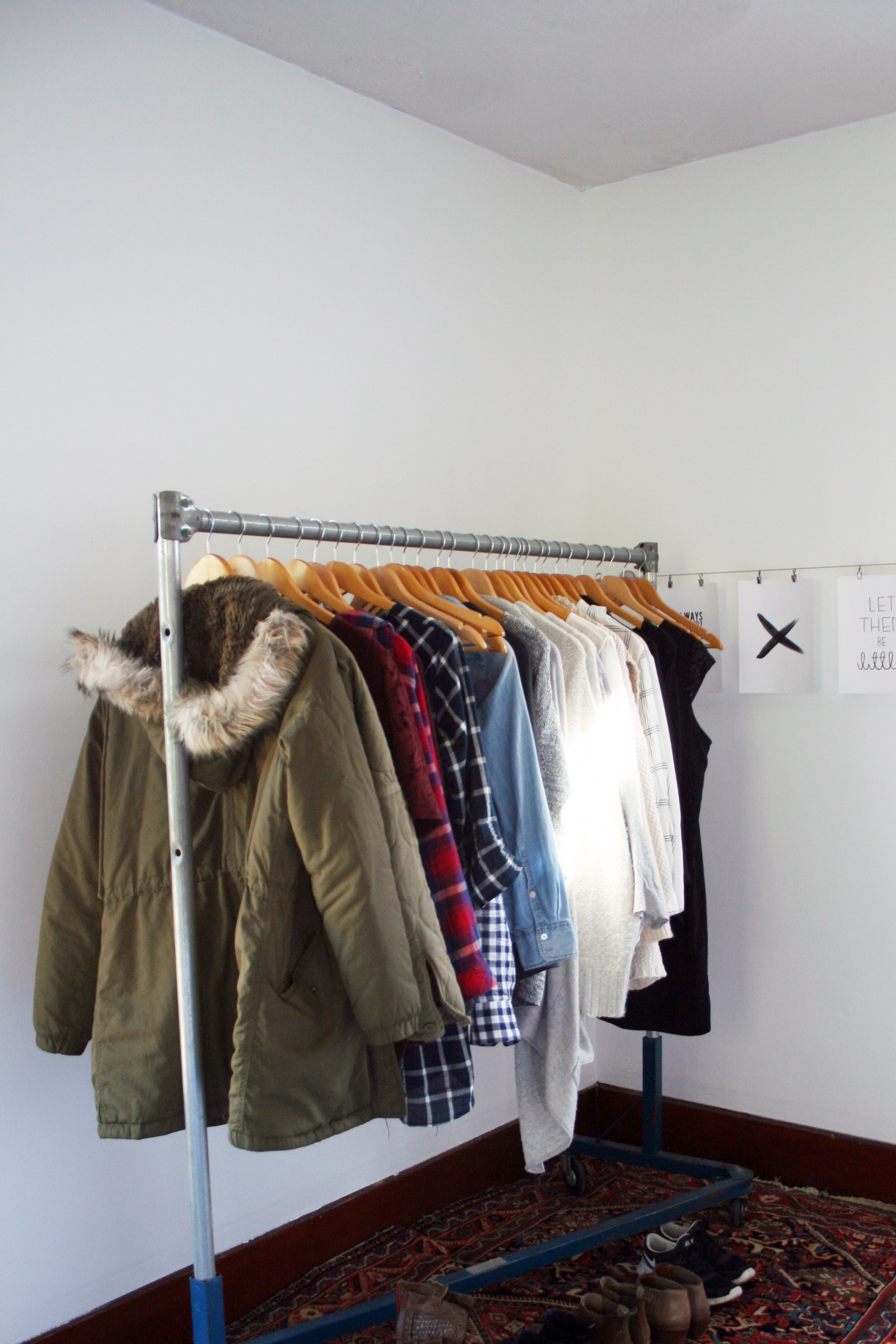 My Capsule Wardrobe / Winter 2015 + What's Working and What's Not