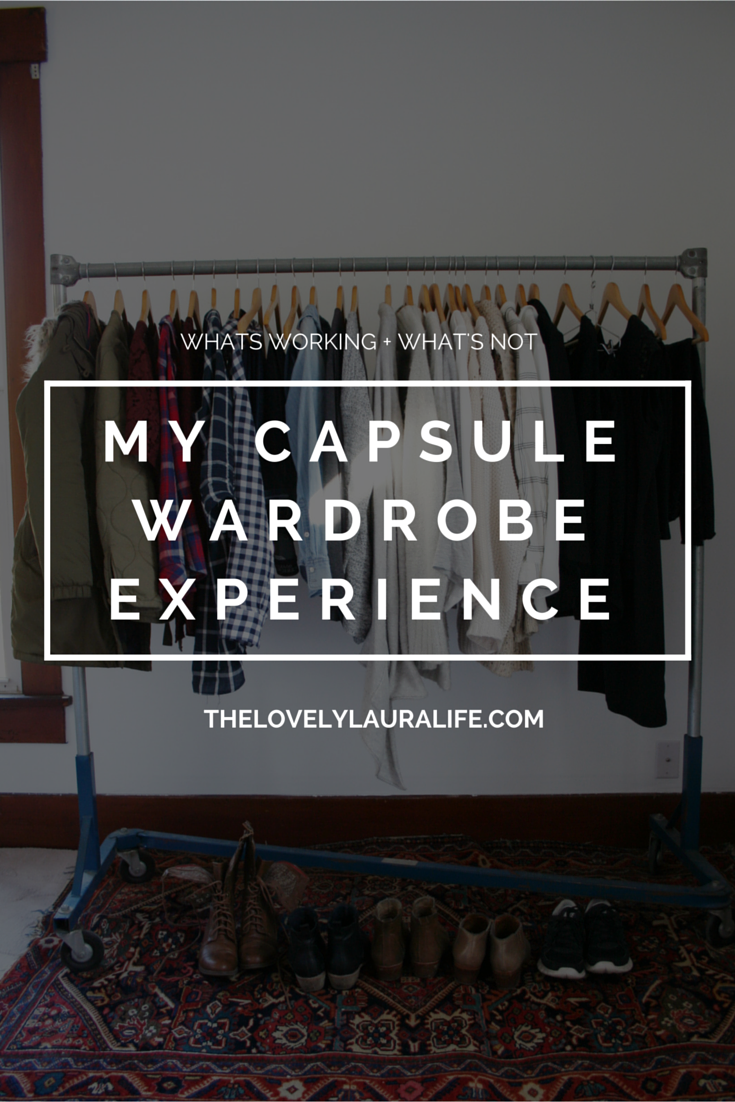 My Capsule Wardrobe - Winter 2015 + What's Working and What's Not