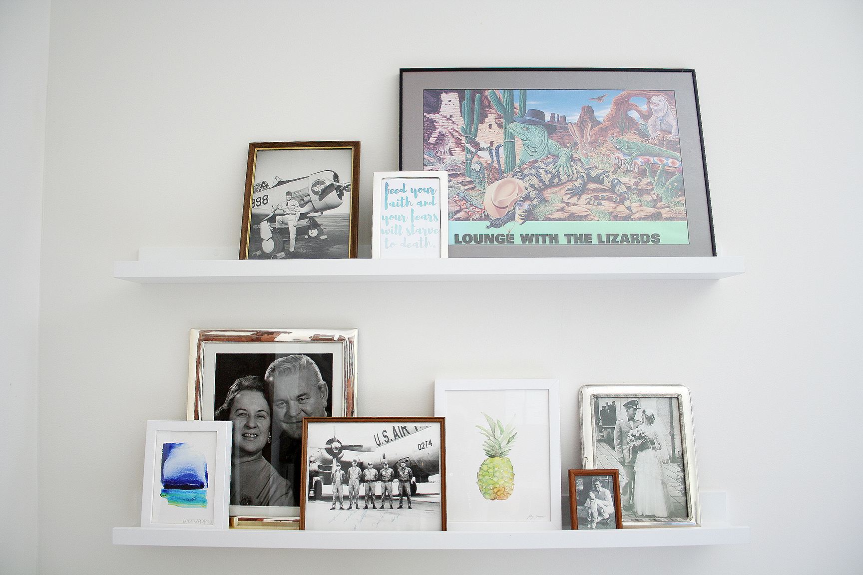 How To: Picture Ledge Gallery Wall [+ A Giveaway!]