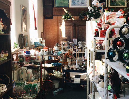 Finding hidden thrifting and antiquing spots