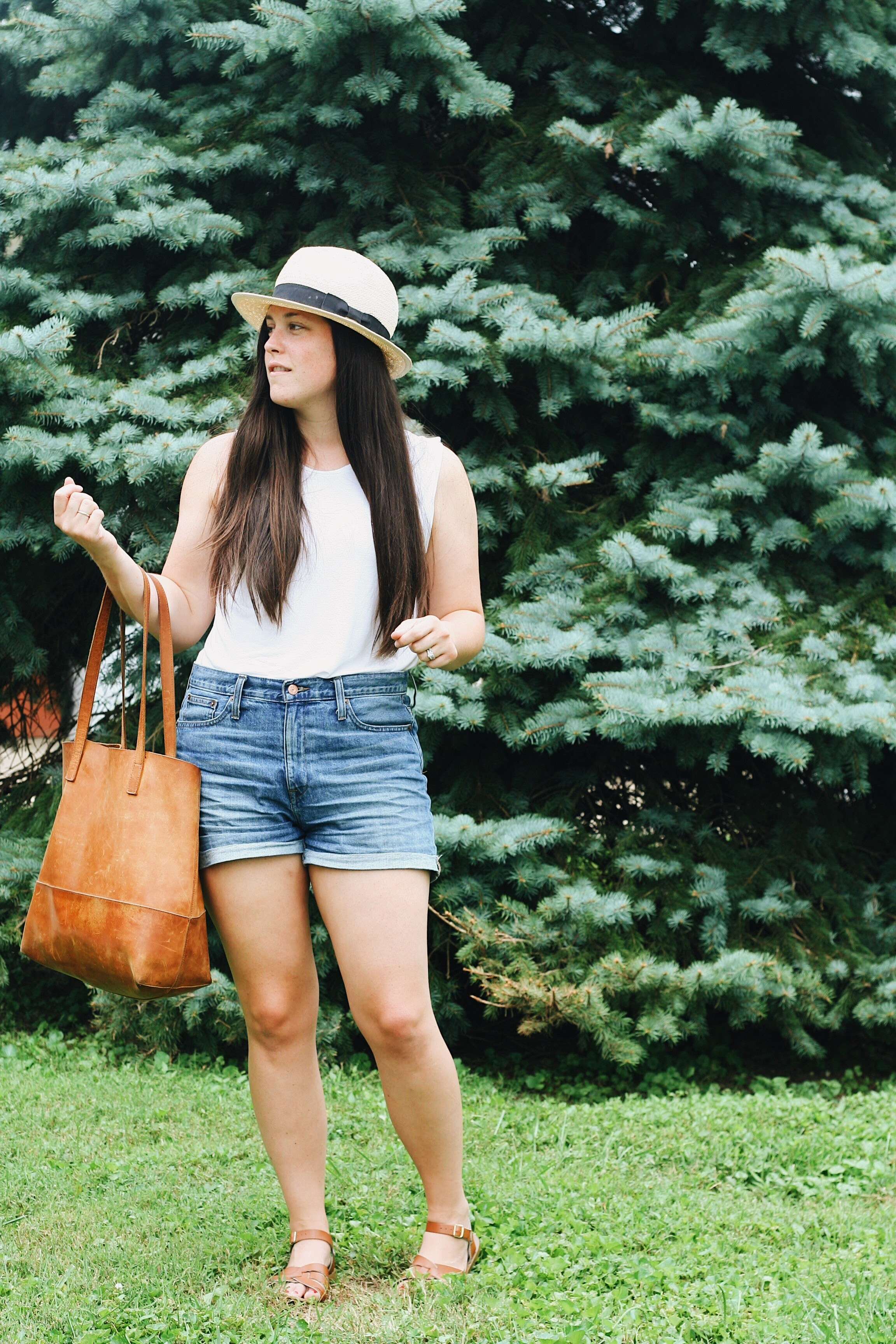 What I [Really] Wore via thelovelylauralife.com